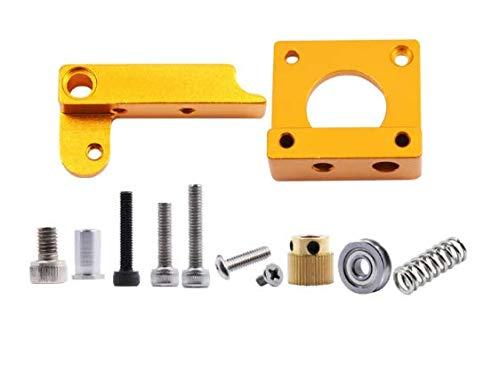 WINSINN CR-10 CR10 extrusor de aluminio mejorado MK8 Drive Feed extrusor de impresora 3D para Creality CR-10 CR-10S Ender 3 RepRap Prusa i3 1.75 mm