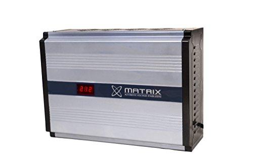 Matrix 4KVA 140VOLTS 1.5 TON AC Stabilizer(Grey)