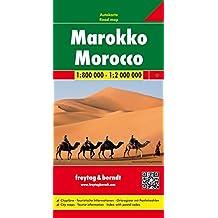 Marokko 1 : 800 000 / 1 : 2 000 000. Autokarte: Citypläne. Touristische Informationen. Ortsregister mit Postleitzahlen