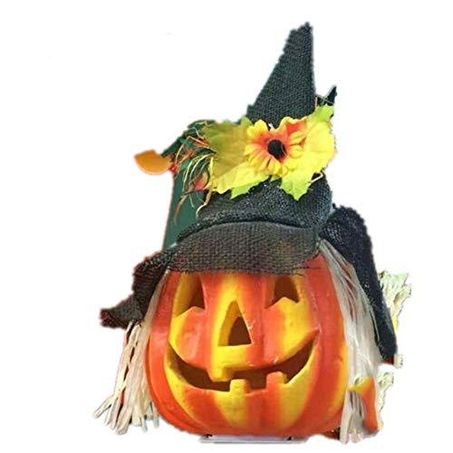 DYMAS Kindergarten Halloween Dekoration Glow Blase Kürbis Licht