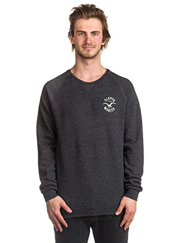 Cleptomanicx Cruiser Sweatshirt Black