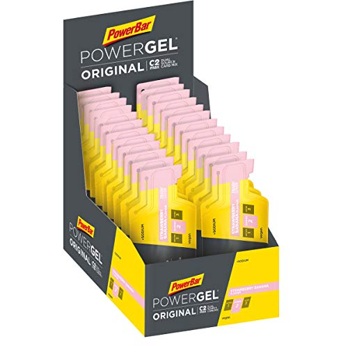Powerbar PowerGel Strawberry Banana - 24 Unidades