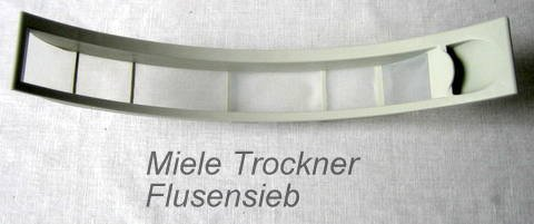 Miele 4061841 Trocknerzubehör / Flusensiebe