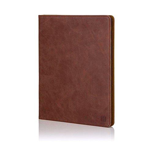 32nd Premium Series - Leder Folio Hülle Case Flip Cover für Apple iPad Pro 12.9 (2015), Entwurf gemacht Mit Ständer - Kastanienbraun -