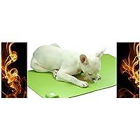 PLYY Almohadilla de calefacción eléctrica, Estera Caliente para Mascotas Mat Caliente, Estera eléctrica, Pelo Antiadherente Resistente al Agua a Prueba de Agua fácil de Limpiar, 2
