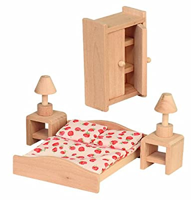 Beluga 70116 - Muebles de dormitorio para casa de muñecas de Beluga