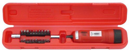 Famex 10896 Drehmomentschlüssel -Schraubendreher, Messbereich 1-8 Nm, Messung in beiden Drehrichtungen, 6,3mm (1/4 Zoll) -Antrieb