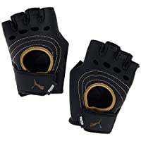 PUMA AT shift gloves Puma Black-Metallic Gold Eldiven Unisex