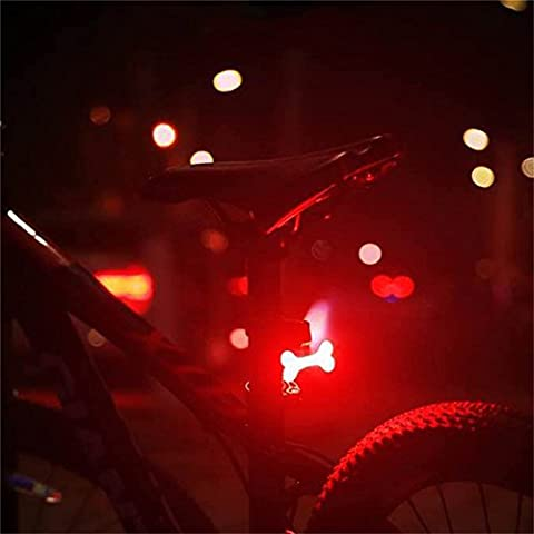 West Biking Bicycle Rear USB Rechargeable Bike Tail Light, Ultra Bright Waterproof Light Accessories Fits on Road Bikes Kids Bicycles