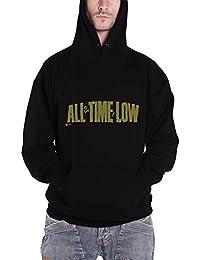 All Time Low Holds It Down nouveau Homme Noir Pullover Sweat-shirt à capuche
