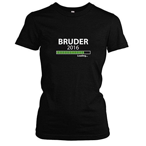 TEXLAB - Bruder 2016 Loading - Damen T-Shirt Schwarz