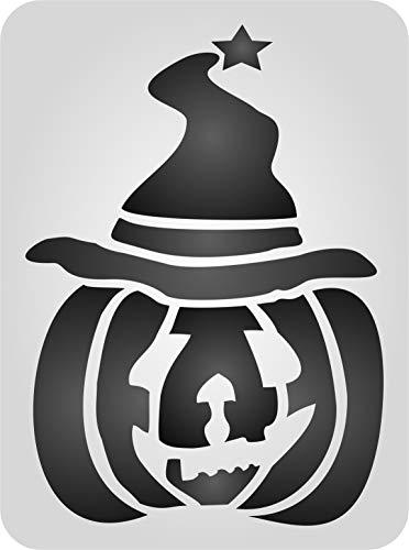 Kürbis Schablone–wiederverwendbar Halloween Day Of The Dead Scary -