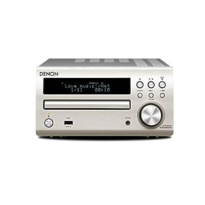 Denon RCD-M40DAB Sintoamplificatore con Ricevitore DAB e Lettore CD, Argento in offerta - Polaris Audio Hi Fi