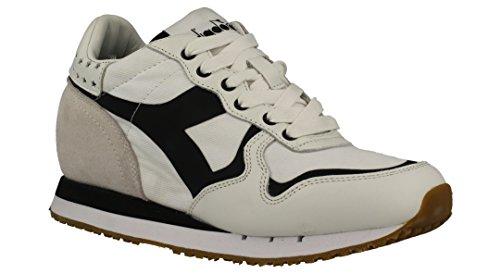 20117058701C0351 Diadora Heritage Sneakers Damen Stoff Weiß Weiß