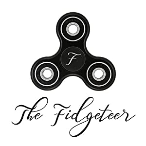 Fidget Hand Spinner EDC Toy   Anxiety and Stress Relief   Ceramic Bearings   Black