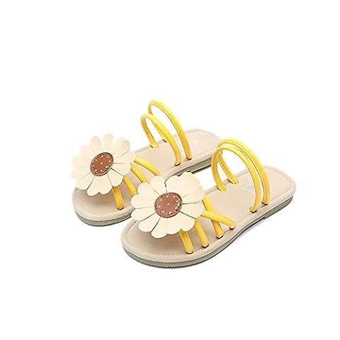 JaLL , Sandales pour fille - jaune - jaune,