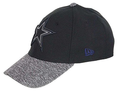 New Era Dallas Cowboys 39thirty Cap NFL Grey Collection Black/Grey - S-M