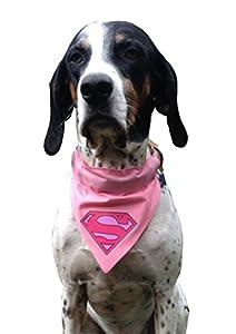 Artytarty Bandana pour chien Motif Supergirl Taille unique