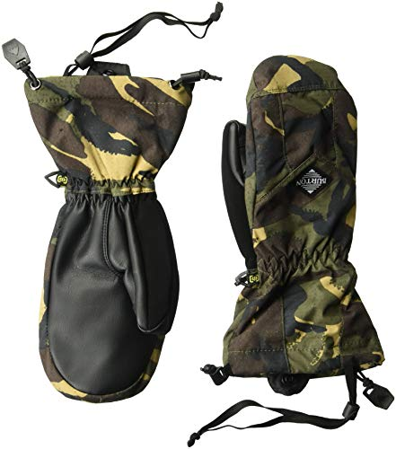 Burton Boys Youth Profile Mitt, Seersucker Camo, Large -
