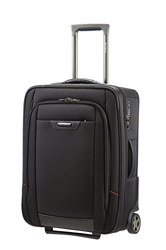 Samsonite Pro-Dlx 4 Upright 55/20 Equipaje de cabina, 55 cm, 38 L, Color Negro