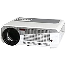 Luxburg® LUX3000 Full HD LCD Projecteur 3000 Lumens Native Resolution 1280 * 800 Compatible avc 1080p HDMI, USB, Wi-FI, Micro SD, VGA, Yprpb, RJ45, DLNA, Android 4.2