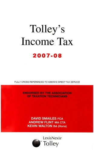 Tolleys Income Tax 07-08 Main Annual