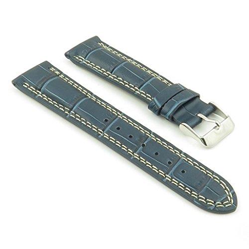 dassari-president-bande-pour-montre-en-cuir-gaufre-crocodile-bleu-pour-jaeger-lecoultre-21mm-21-19