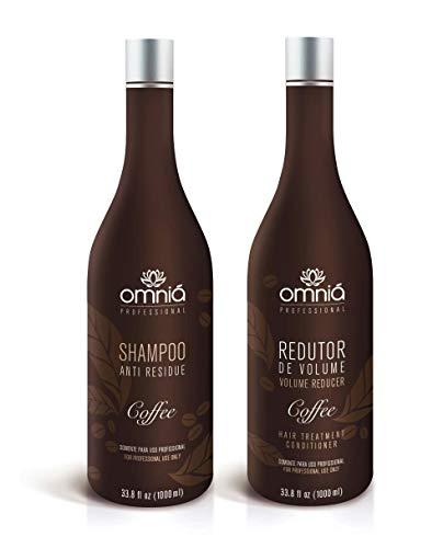 omniá Café cheveux Traitement réducteur Kit formaldéhyde Free