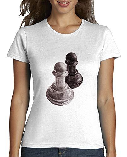 Camiseta Mujer con Peones - Varios colores / Varias Tallas