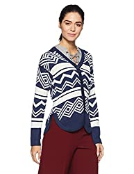 Monte Carlo Womens Synthetic Cardigan (1173563VN-2_Blue_36)