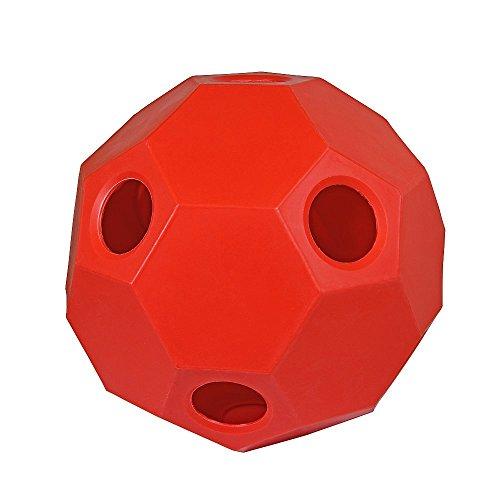 Hay Play heno Forro pelota de heno fütterer Caballos Caballos juguete rojo