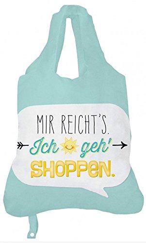Einkaufsbeutel Tragetasche Tasche Shopper 'Mir reicht's'
