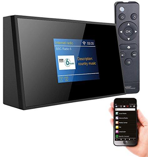 VR-Radio WLAN Radio: Digitaler WLAN-HiFi-Tuner mit Internetradio, DAB+, UKW, Fernbedienung (DAB Empfänger)