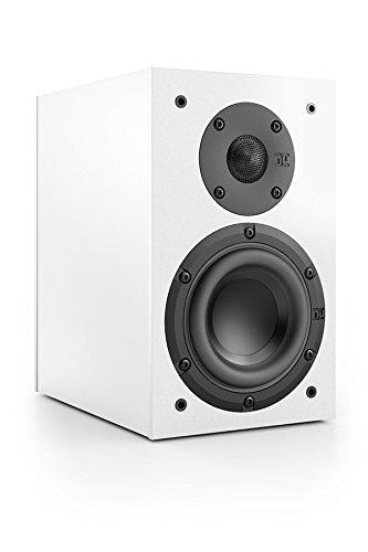 Nubert nuBox 303 Regal-/Dipol-Lautsprecher 2-Wege (12,0 cm Tieftöner, 2X 1,9 cm Hochtöner, 100/130 Watt, 74-27000 Hz), Stück, Weiß/Weiß