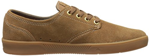 Emerica Laced By Leo Romero-M, Baskets mode homme Multicolore - marron/marron/rose (Brown/Brown/Gum)