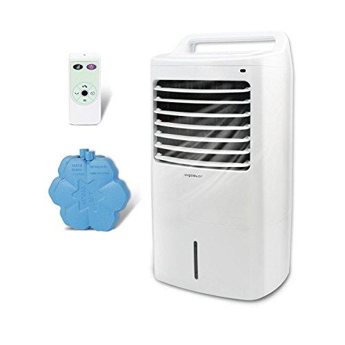 Aigostar Kohl 33JTJ - Climatizador evaporativo con mando a distancia, 60W, oscilante, 3 modos y...