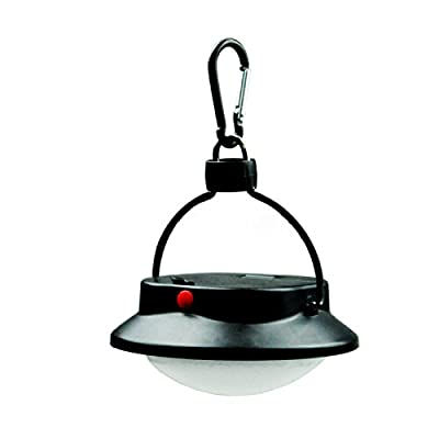 Lixada 30/60 LED Outdoor Indoor Camping Lamp with Lampshade Circle Tent White Light Campsite Hanging Lamp - inexpensive UK light store.