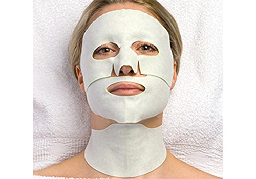 CNC aesthetic world Hydrogel Face and Neck Mask, 3-teilig - 6 Stück -