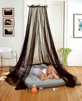 Moskitonetz Rundform - passend für jedes Doppelbett