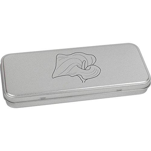 Azeeda 180mm x 75mm 'Calla-Lilie' Blechdose / Aufbewahrungsbox (TT00049866)