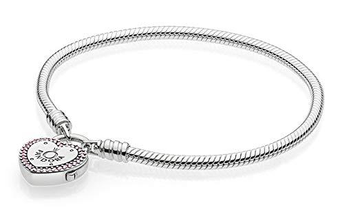 Pandora Damen-Charm-Armbänder 925 Sterlingsilber zirkonia 596586FPC-20