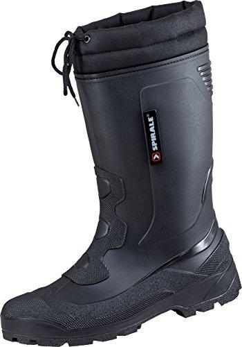 Winterstiefel Schneestiefel Spirale Ötz Stiefel gefüttert schwarz Schwarz