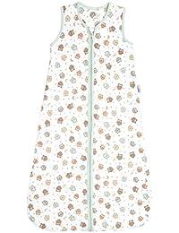 Slumbersac Summer Baby Sleeping Bag 0.5 Tog - Simply Owl, 6-18 months/90 cm