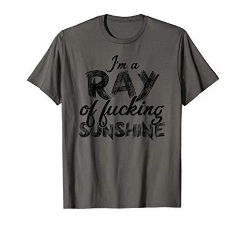 Ich bin ein Ray of Fucking Sunshine Sarcastic Unangemessen T-Shirt
