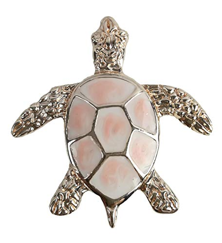 Treend24 Damen Magnet Brosche Schildkröte Rosegold Schal Clip Bekleidung Magnetbrosche Poncho Taschen Stifel Textilschmuck Eule Herz stern