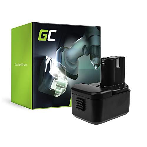 Green Cell® FEB 9S Werkzeug Akku für Hitachi (Ni-MH Zellen 2 Ah 9.6V) - Akku-werkzeuge Hitachi