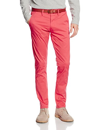 Selected SHHYARD SPICED CORAL SLIM ST PANTS - Pantalon - Chino - Homme
