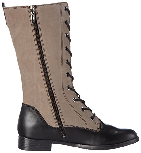 Tamaris - 25620, Stivali Donna Multicolore (Mehrfarbig (Cigar/Black 368))