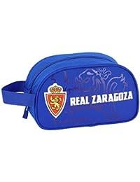 Real Zaragoza Oficial Mochila Escolar Infantil Mediano con Asa 260x120x150mm