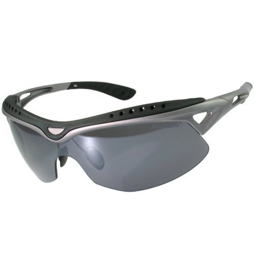 Polarlens P14 Sunglasses with Premium Wrap Frame for Cycling, Running, Baseball, Hiking and all other Summer and Winter Outdoor Sports and Activities